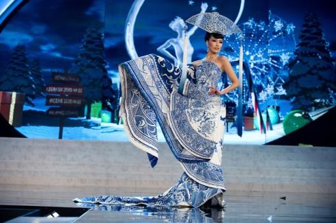 Miss China 2012 no concurso para Miss Mundo